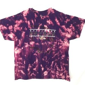 Custom Baltimore Ravens tiedye T-shirt